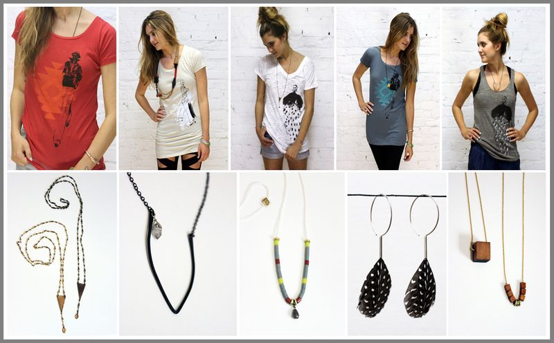 Fashion loves people - new collection of t's and jewelry