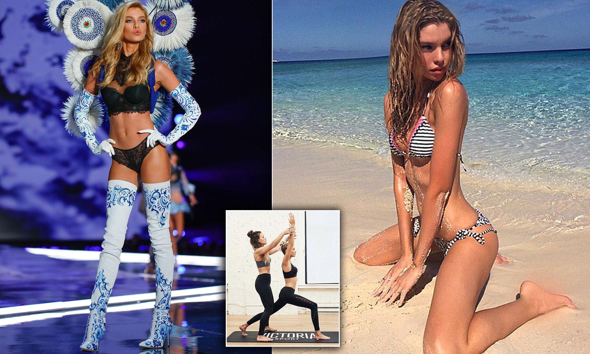 Stella Maxwell's Victoria Secret Transformation