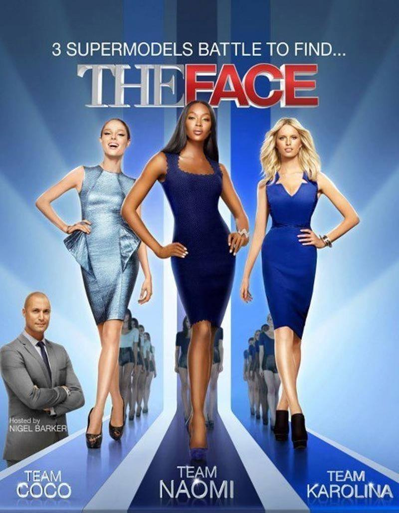 The Face UK Poster